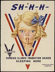 Les onomatopées dans les affiches de propagande.