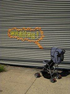 Les onomatopées dans le street art.