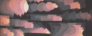 KLEE Paul : Fugue en rouge (1925)