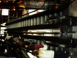 Les escalators de l'opéra