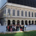 Place Verdun, devant l'opéra