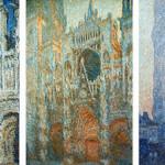 """C. MONET : """"La cathédrale de Rouen"""" (1992-1894)."""