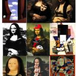 """Variation sur L. DE VINCI : """"La Joconde"""" (1503-1506)."""