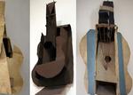 """P. PICASSO : """"Guitares"""" (1912-1914)."""