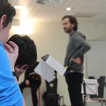 Répétition Quatuor Bélà