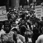Martin Luther King_Manifestation à Chicago (21 juin 1964)
